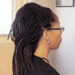 Dreadlock Hairstyle for Bridesmaids